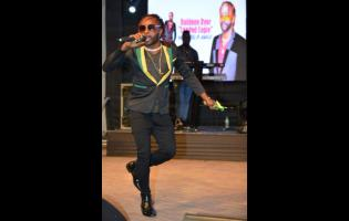 Jamaica Festival Song Competition 2019 winner Raldene Dyer, aka Loaded Eagle.