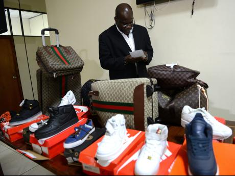 C-TOC seize $1 5 billion worth of counterfeit goods | News